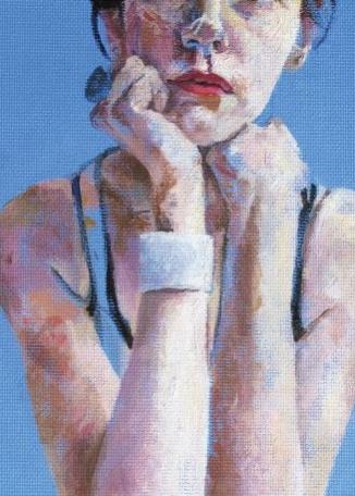 FRANCES BORDEN - Blue Rest