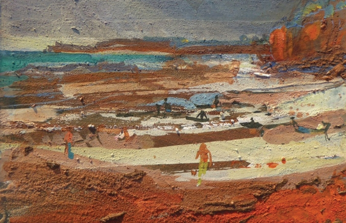 FRANCES HATCH: RED EARTH UNDER MY NAILS
