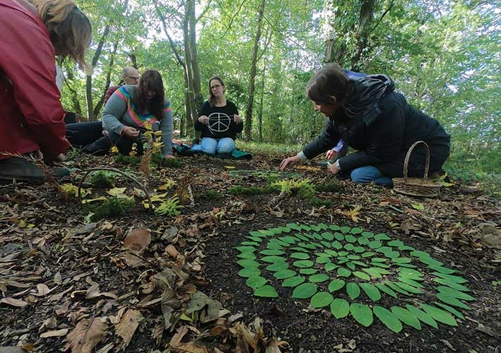 WOODLAND ART FOR WELL-BEING