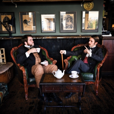 MORGAN & WEST: 'TIME TRAVELLING MAGICIANS'