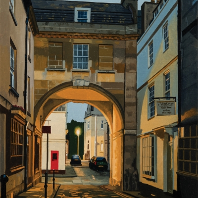 NICK CUDWORTH: BATH NIGHT PAINTINGS