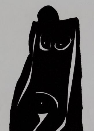 JANE BROSSARD - Kneeling Nude