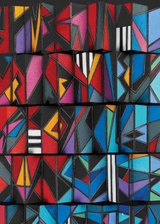 SHERLEY PHILLIPS - Geometric Folds Four