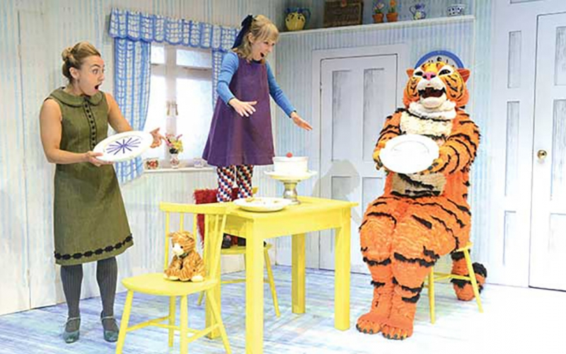 'THE TIGER WHO CAME TO TEA'