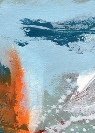 TERRI HOGAN - Sunset - Lamorna 1