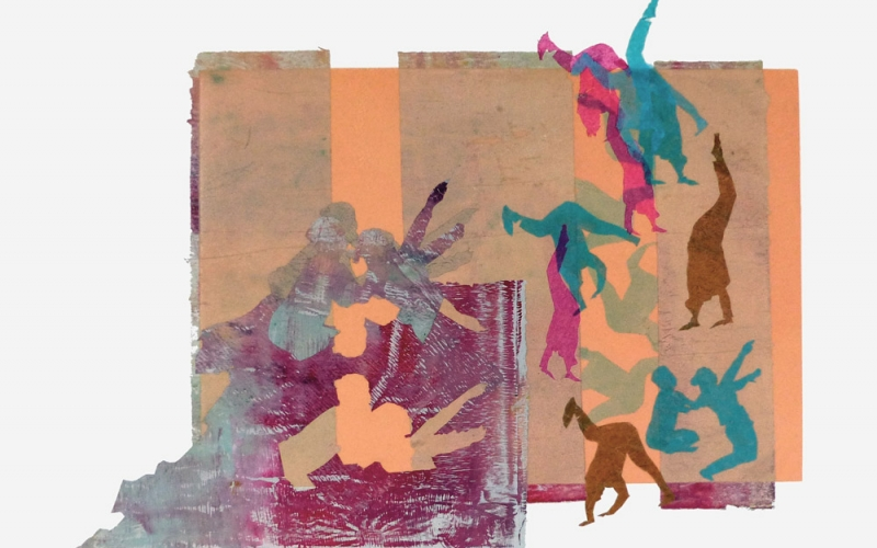 DRAWING DANCE - FRAN QUINLAN