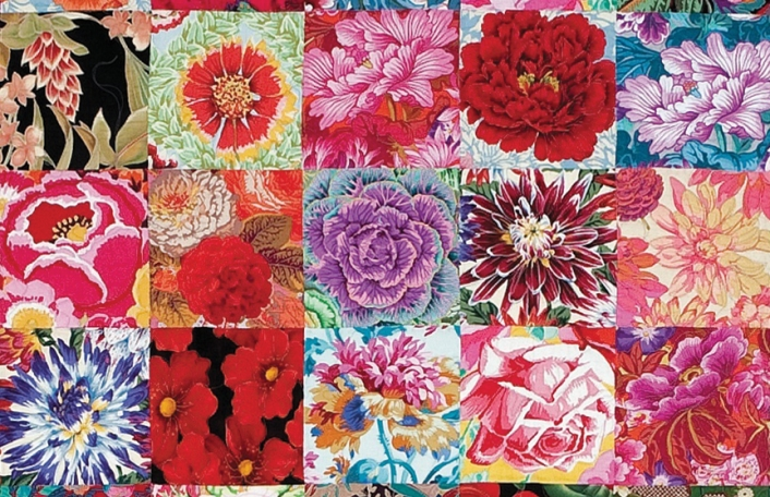 KAFFE FASSETT AND CANDACE BAHOUTH: 'A CELEBRATION OF FLOWERS'