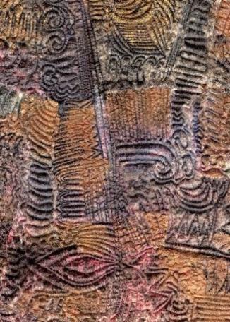 YVONNE MORTON - Stitched Fragment