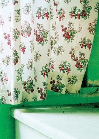 ZOE BARKER Kitchen Curtain