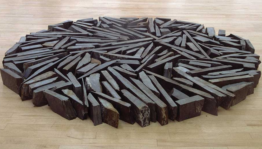 RICHARD LONG: 'BEING IN THE MOMENT'